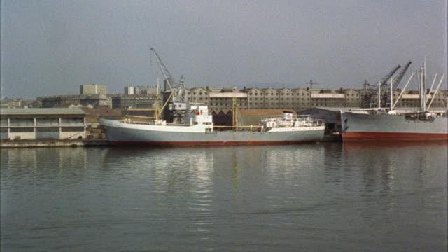 vidéos et rushes de ms view of marseille harbor  - marseille