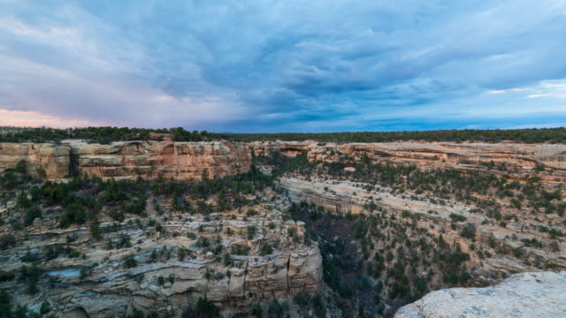 view of mesa verde national park - mesa verde nationalpark stock-videos und b-roll-filmmaterial