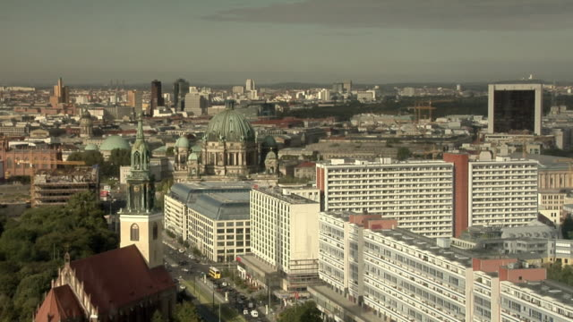 WS, HA, View of Mitte district, Berlin, Germany