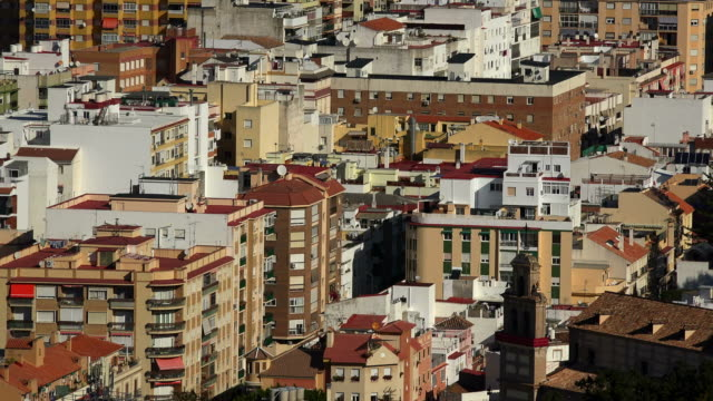 view of Málaga from Gibralfaro