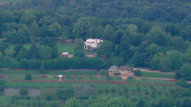 WS AERIAL ZO View of Monticello / Virginia, United States