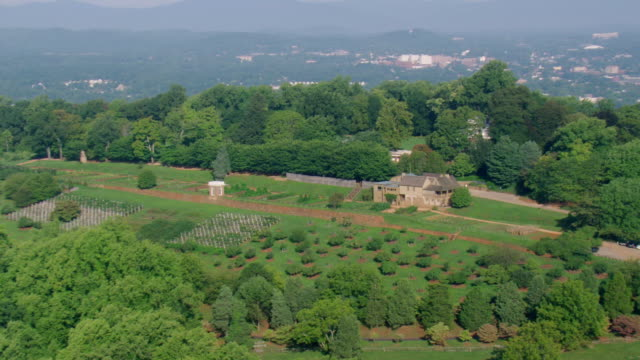 WS AERIAL ZO ZI View of Monticello / Virginia, United States
