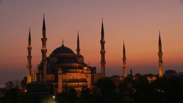 View of Mosque in Istanbul Turkey