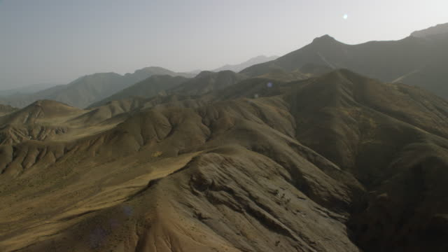 vidéos et rushes de view of mountain ranges in north morocco, africa - maroc