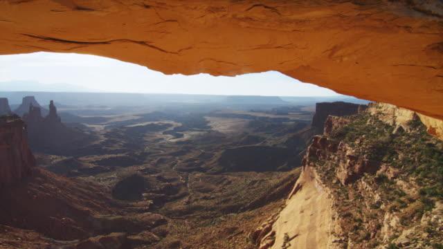 MS PAN View of mountain vally / Moab, Utah, United States