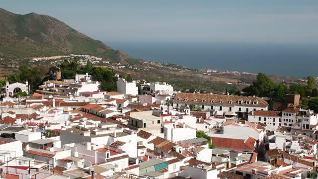 WS View of Mountain village Mijas / Mijas, Andalusia, Spain