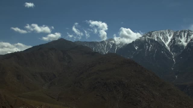 View of Mt San Jacinto near Palm Springs, CA.