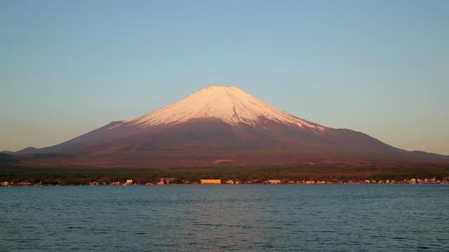WS View of Mt.Fuji at sunrise / Fujiyoshida, Yamanashi, Japan