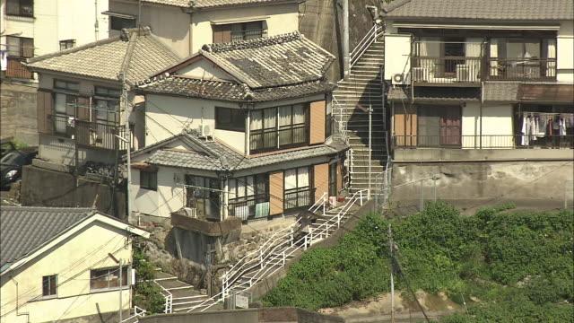 view of nagasaki city - 丘点の映像素材/bロール