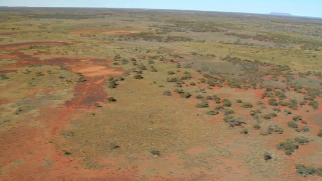 ws aerial view of norther territory landscaper in australia / northern territory, australia - wiese stock videos & royalty-free footage