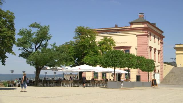 WS View of Obere Terrassenbatterie Restaurant / Koblenz, Rhein, Rhineland Palatinate, Germany