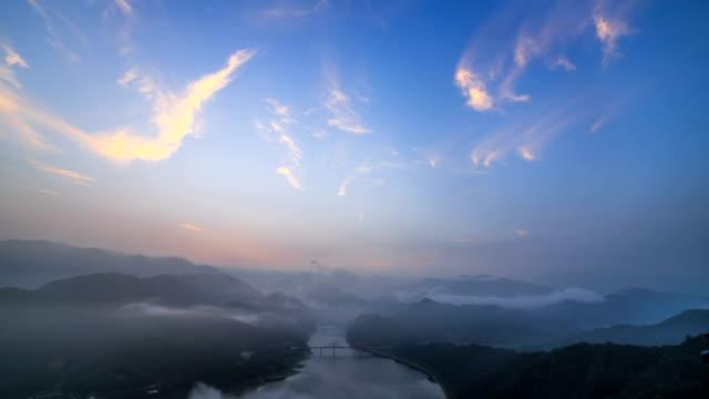 View of Oksundaegyo bridge (Famous tourist attraction and lake is man made lake)