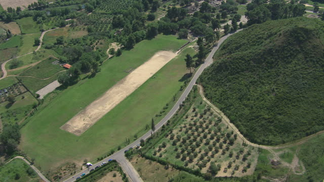 WS AERIAL View of Olympia / Olympia, Peloponnese, Greece