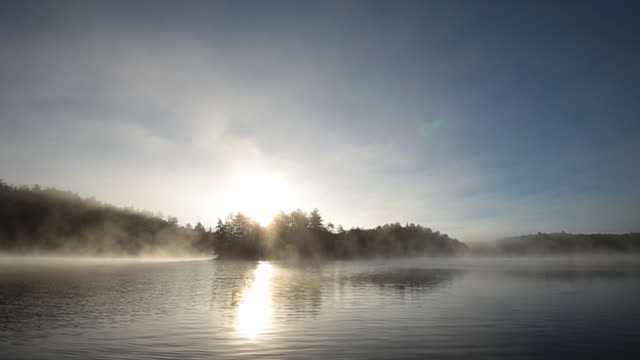 WS View of Opeongo Lake dawn / Whitney Ontario, Ontario, Canada