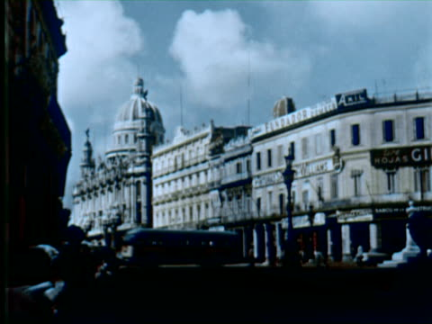 ws view of palace  audio / havana, cuba - havana stock videos & royalty-free footage