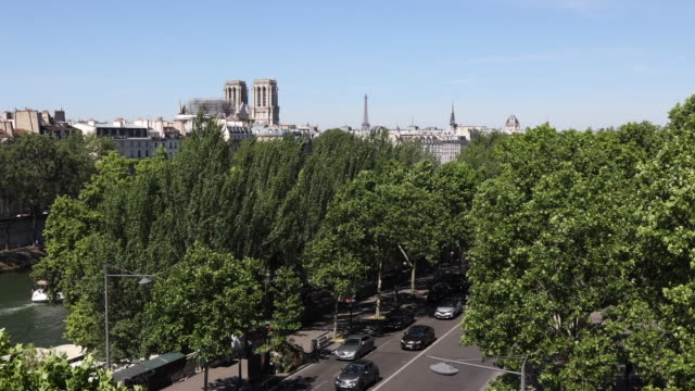 view of paris - saint louis bildbanksvideor och videomaterial från bakom kulisserna