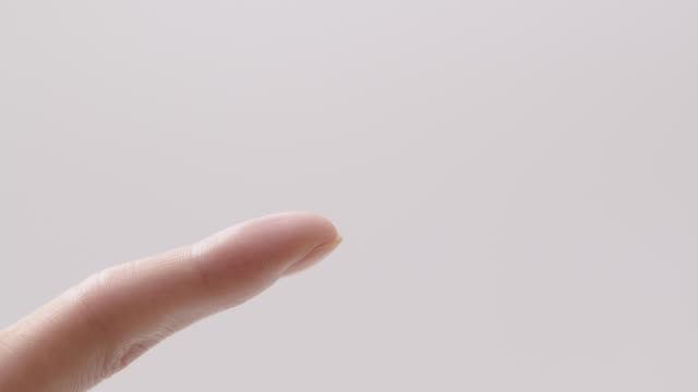 view of part of index finger - index finger stock videos & royalty-free footage