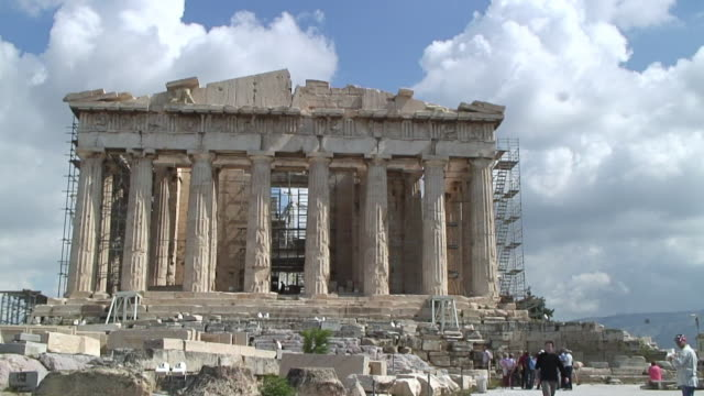 WS View of Parthenon / Athens, Greece