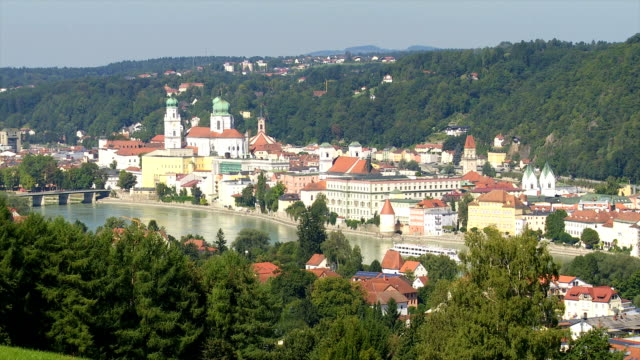 HA View of Passau in Lower Bavaria