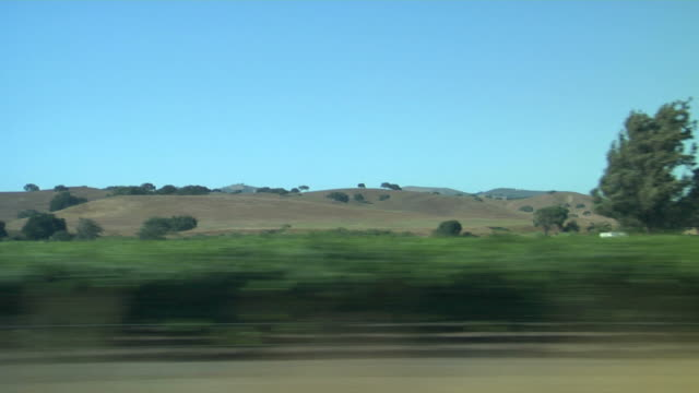 view of passing landscape - moving past stock videos & royalty-free footage