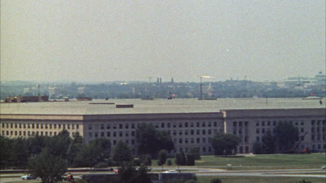 WS View of Pentagon / Washington D.C. and zunited States