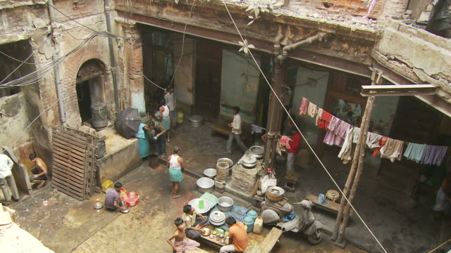 view of people life in kolkata india - kolkata stock videos & royalty-free footage