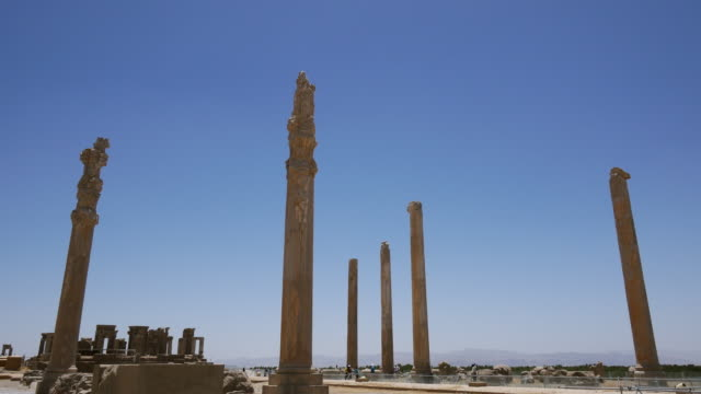 WS PAN View of Persepolis,World Heritage / Shiraz, Fars Province, Iran
