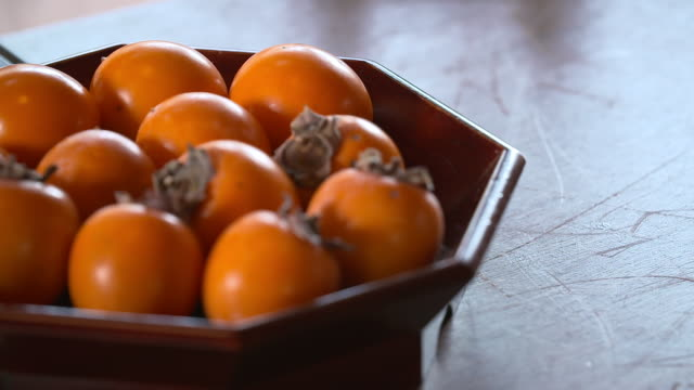 View of Persimmon on the Bowl