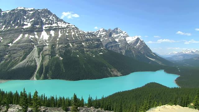 WS View of Peyto Lake / Banff Nationalpark, Alberta, Canada