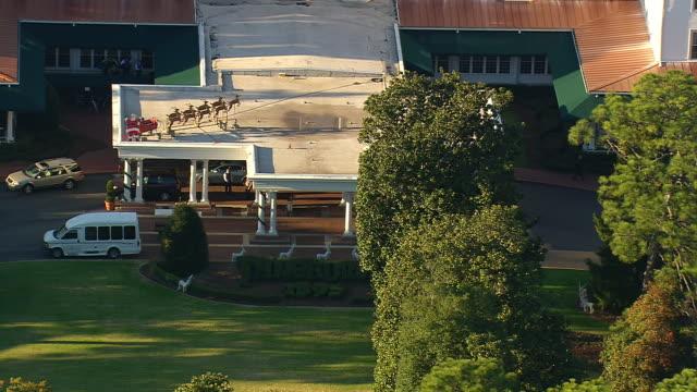 MS AERIAL ZO View of pinehurst resort / North Carolina, United States