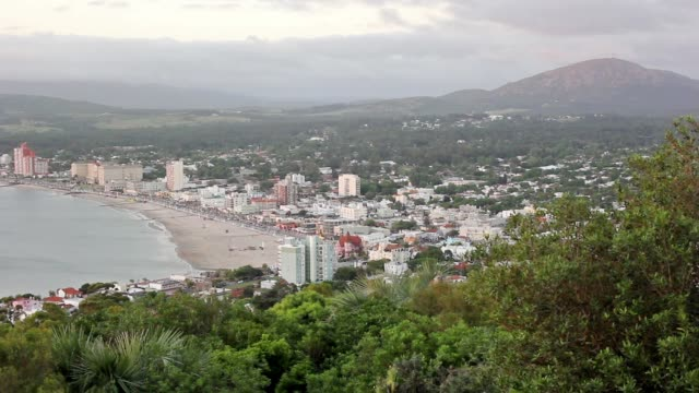 View of Piriápolis from cerro San Antonio (San Antonio hill)