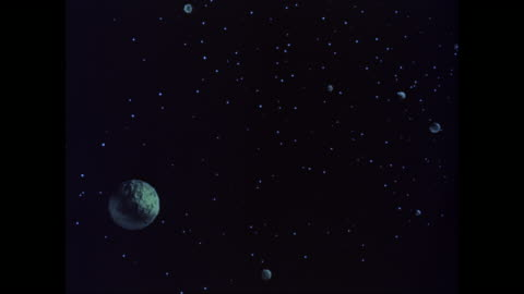ws pov view of planets and stars at space / united states - fantasy stock videos & royalty-free footage