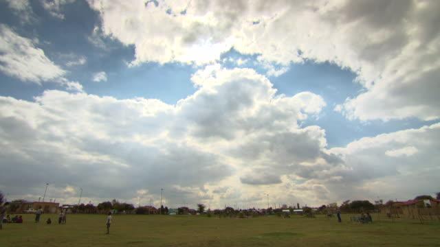 vídeos y material grabado en eventos de stock de ws view of playground / durban south africa - kwazulu natal