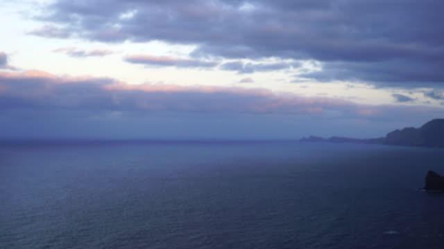 View of Ponta do Clerigo in Madeira island