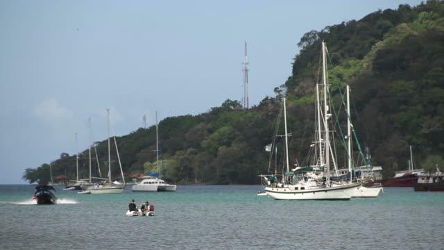View of Portobelo near the port