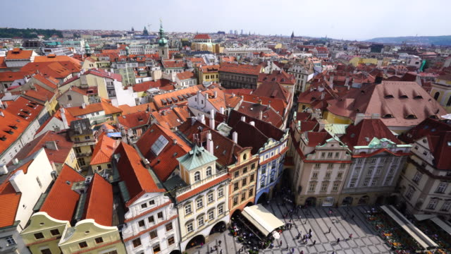 view of prague - prague stock videos & royalty-free footage