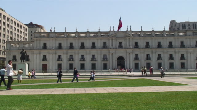 WS View of Presidential Palace / Santiago, Chile