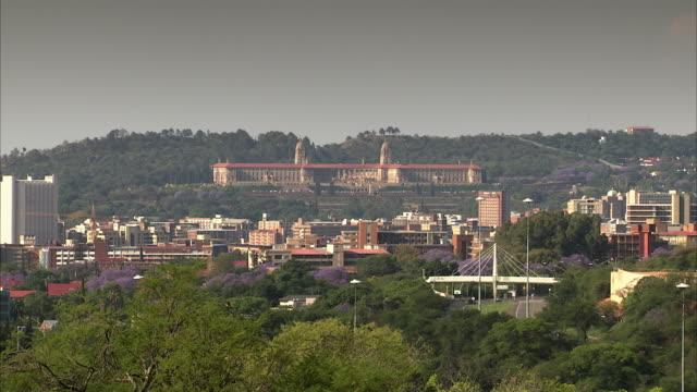 WS ZO View of Pretoria CBD and Union Building / Pretoria, Tshwane, South Africa