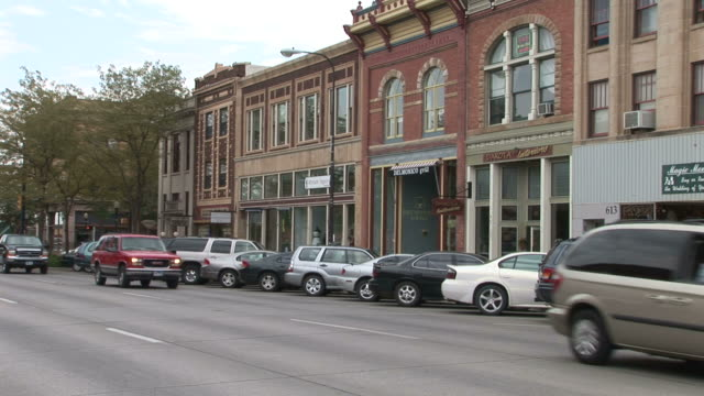 view of rapid city in south dakota united states - south dakota stock videos and b-roll footage
