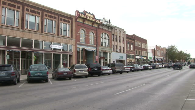 vídeos de stock e filmes b-roll de view of rapid city in south dakota united states - rapid city