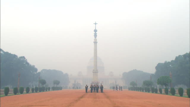 View of Rashtrapati Bhavan also known as Viceroy's House (Presidential House in India)