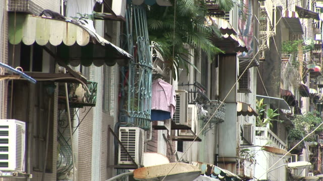 View of residential area in Macau China