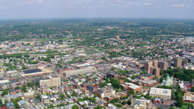 WS AERIAL ZI ZO View of Richmond / Virginia, United States