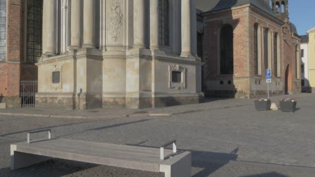view of riddarholmen church, stockholm, sweden, scandinavia, europe - circa 13th century stock videos & royalty-free footage