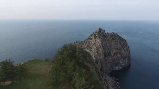 View of Rocky Coastline in Ulleungdo Island(Famous Travel Destination), Gyeongsangbuk-do, South Korea