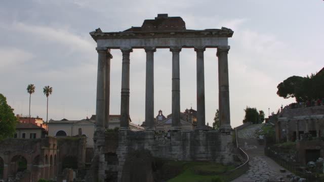 MS TU TD View of Roman Forum / Rome, Italy
