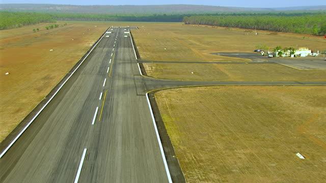 WS AERIAL ZI View of runway / Darwin, Northern Territory, Australia