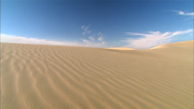 View of Sahara Desert