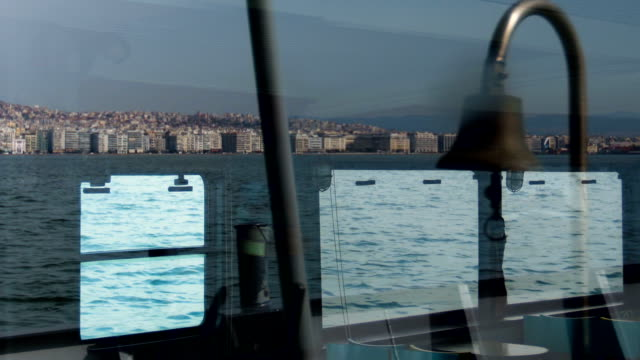 view of sea from boat - vehicle interior stock videos & royalty-free footage