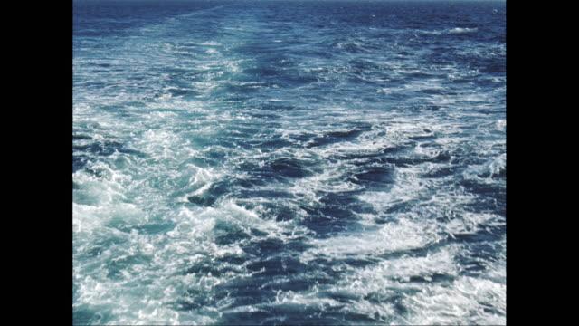WS POV View of sea / United States